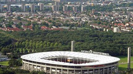 Foto del Commerzbank Arena, en Frankfurt