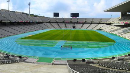 Fotografía interior del Estadio Olímpico.