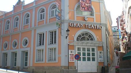 Exterior del Gran Teatro de Cáceres