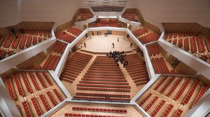 Foto del interior del Kulturpalast Dresden