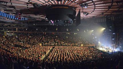 Madison Square Garden concert