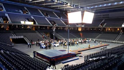 Imágenes del Navarra Arena