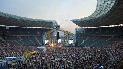 Olympiastadion Berlin concert