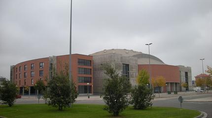 Fotografía del Palacio de Deportes de Logroño