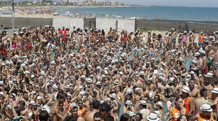 Fotografía tomada en el festival Arenal Sound.