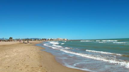Fotografía de la playa el Arenal.