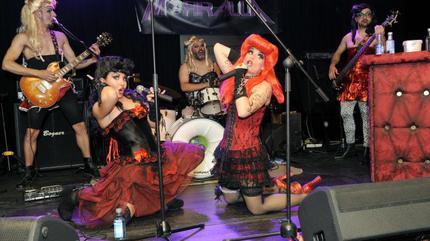 Fotografía de un concierto en la sala Porta Caeli