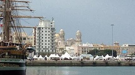 Fotografía del Puerto de Cádiz