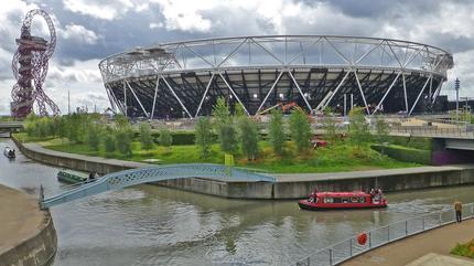 Olympic Park Close Shot