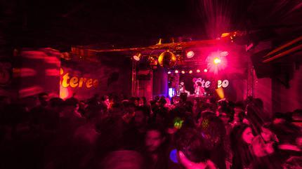 Fotografía de un concierto en la sala Stereo de Alicante.
