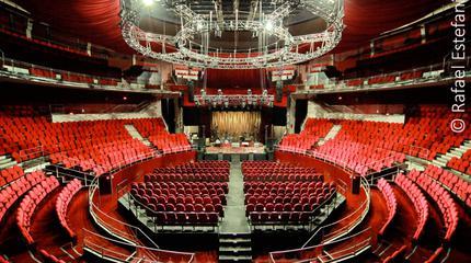Fotografía interior del Teatro Circo Price