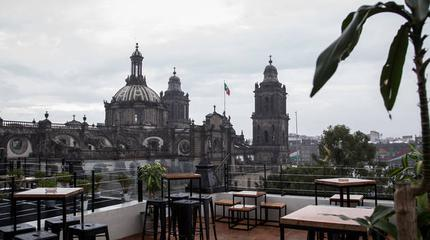 Imagen de la terraza catedral