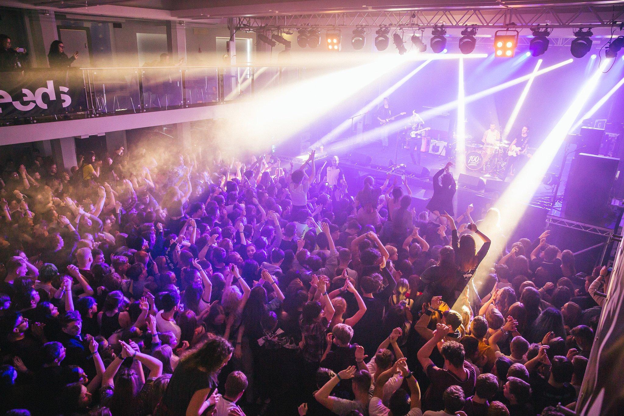 Darts concert in Leeds