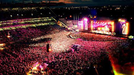 Konzert von Ed Sheeran in Dublin