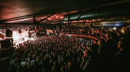 Pixies concert in Luxemburg
