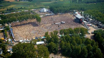 Red Hot Chili Peppers concert in Werchter