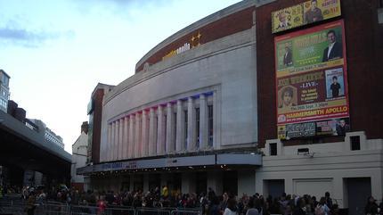Concierto de Saxon en Londres