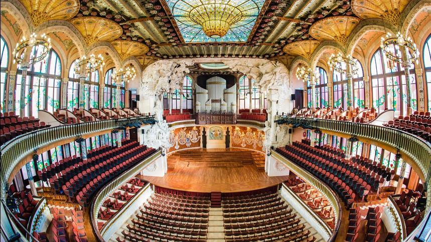 Sir Simon Rattle concert in Barcelona
