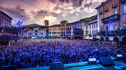 Concierto de Ligabue en Locarno