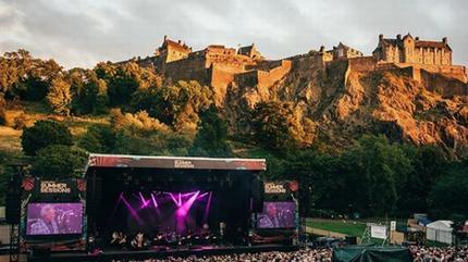 Travis concerto em Edimburgo