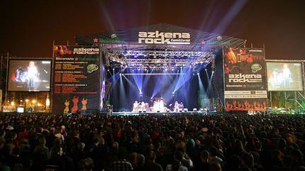 La Polla Records concert in Vitoria-Gasteiz