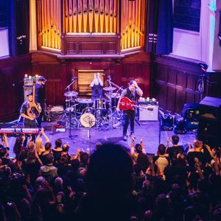 Concierto de Aidan Moffat en Glasgow