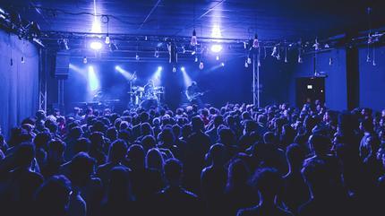 Leize + Vhäldemar concerto em Barcelona