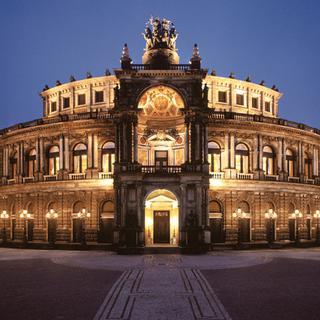 Concierto de Offenbach en Dresden